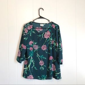 Anthropologie • HD in Paris Floral Blouse